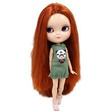 ICY Boneca Nua Série Não. BL232 cabelo Castanho Vermelho o mesmo que Blyth com maquiagem, Azone CONJUNTA corpo, menor preço