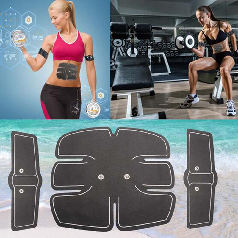 3pc Replacement Gel Hydrogel Stickers Patch For Muscle Stimulator EMS Body Slimming Machine Abdominal Muscle Exercise Slim Belt все цены
