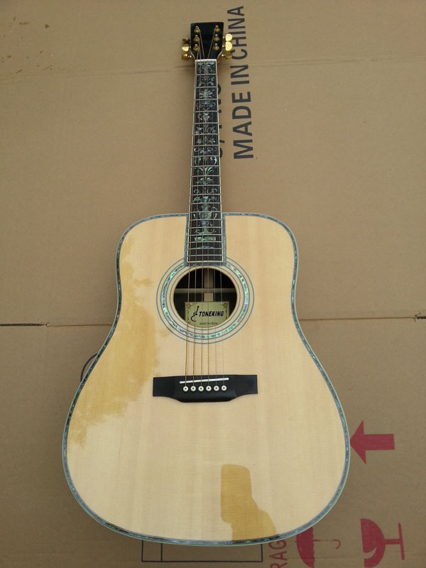 Free shipping import acoustic guitar, Made in china guitar