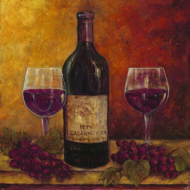 Buy grape wine vinho verde and goblet on for How to paint a wine glass with acrylics