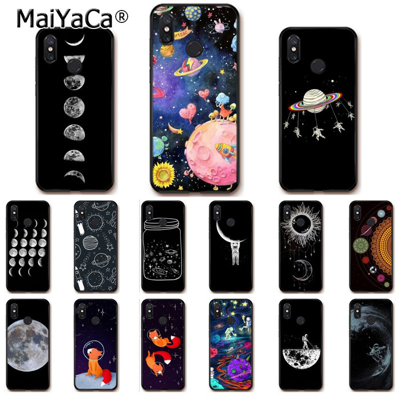 Cellphones & Telecommunications Maiyaca Space Astronaut Moon Universe Foxes Phone Case For Xiaomi Mi 6 Mix2 Mix2s Note3 8 8se Redmi 5 5plus Note4 4x Note5 Skilful Manufacture