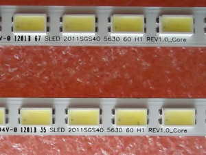 Image 4 - 2 teile/los 60LED Led hintergrundbeleuchtung streifen für LC 40LE511 40BL702B LE4050b LE4052A LE4050 LE4052 LJ64 03567A H1LTA400HM08