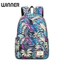Mode Verlässt Muster Druck Wasserdichte Rucksäcke für Teenager Mädchen Casual Frauen Schulter Schultasche Reisetaschen