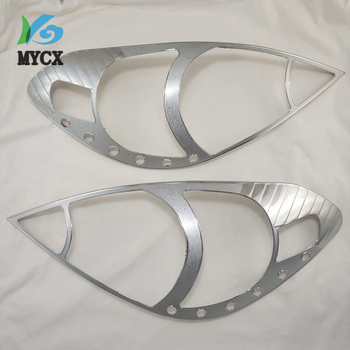 2PCS ABS FOR Toyota INNOVA 2004 Headlight Frame Decoration Car Protection Refit Accessories image