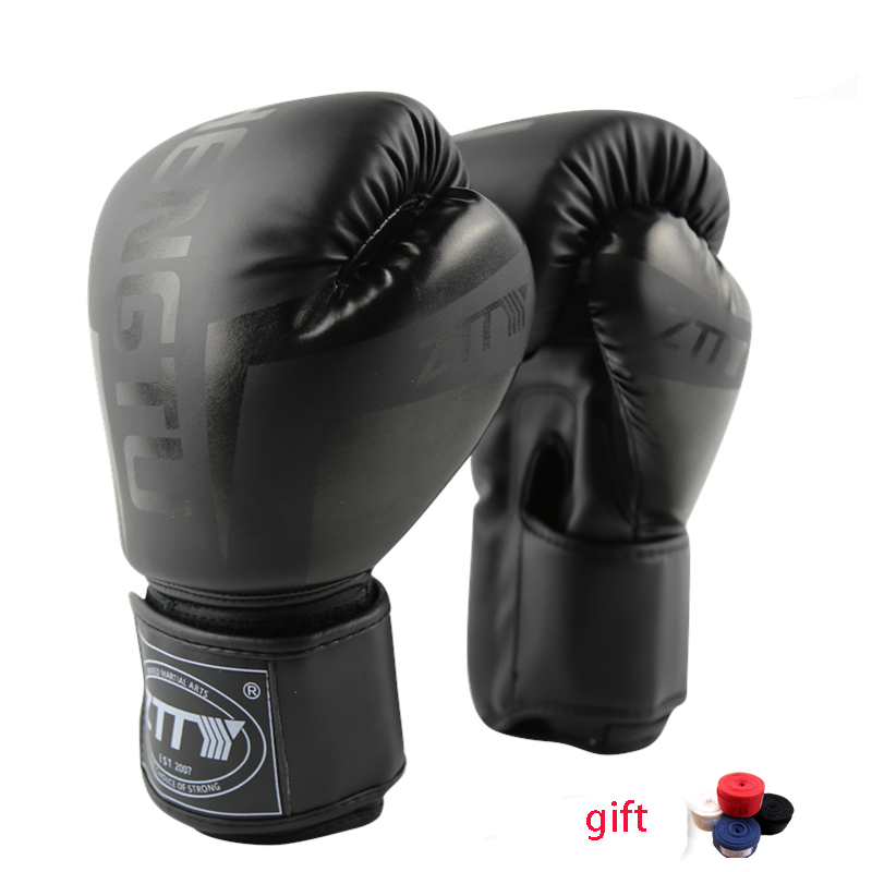Guantoni da boxe Muay Thai Training Maya Nascondere In Pelle Sparring Punching Bag Guanti kickboxing Lotta