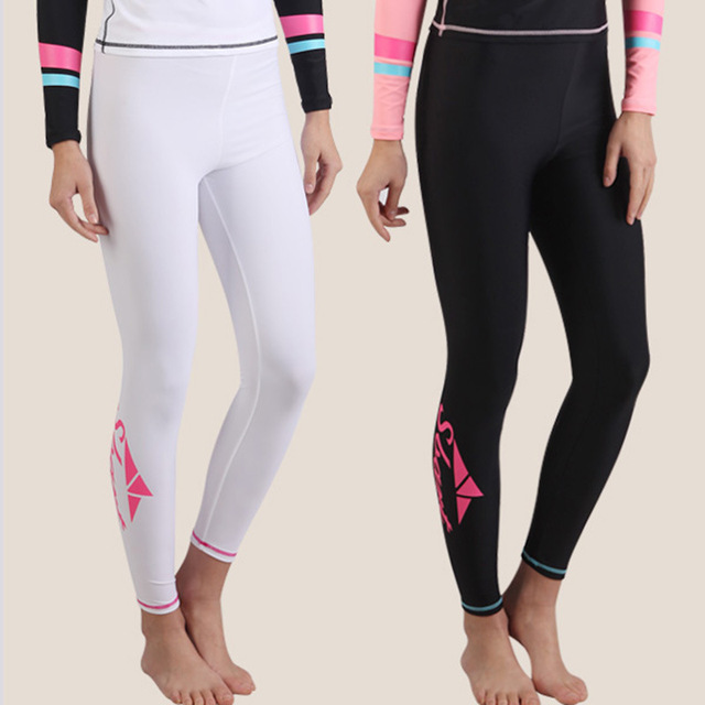 SBART Women's Swimming Pants Wetsuit Women Wet Suit For Swimming Swimsuit Women Surfing Swimsuits Diving Suit Surf Swimwear Swim