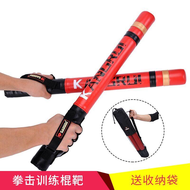 2 stücke 60 cm Schwarz red boxing Präzision Ausbildung Sticks stanzen handschuhe pads ziel MMA muay thai kampf Grappling ausbildung werkzeuge