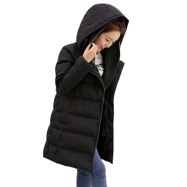 brand new 62619 5366e US $114.75  Jaqueta Feminina Woman Winter Jacket 2016 Hot Sale Plus Size  Thicken Damen Winter Mantel Fashion LL0086 Long Women's Down Jacket-in  Parkas ...
