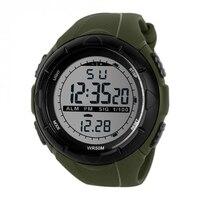 LED Digital Sports Watch Bracelet Rubber Band Watch Waterproof LL