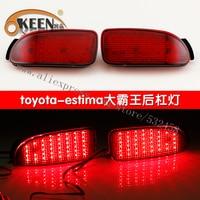 OKEEN Brand Led Daytime Running Lights Park Lamps Rear Bumper Reflector Lights Automobiles Car Tail Car