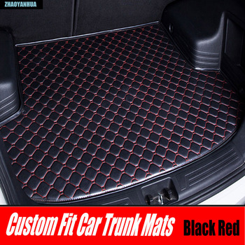 ZHAOYANHUA Car trunk mats for Mercedes Benz C117 X117 CLA class 180 200 220 250 260 AMG 45 car-styling liners rugs carpet (2013- Mercedes-Benz CLA-класс