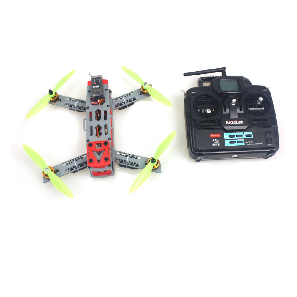 F16051-D JMT 260 Across Frame Small RFT Drone with QQ Flight Controller Motor ESC 6Ch TX & RX No Battery charger FS drone with camera rc plane qav 250 carbon frame f3 flight controller emax rs2205 2300kv motor fiber mini quadcopter