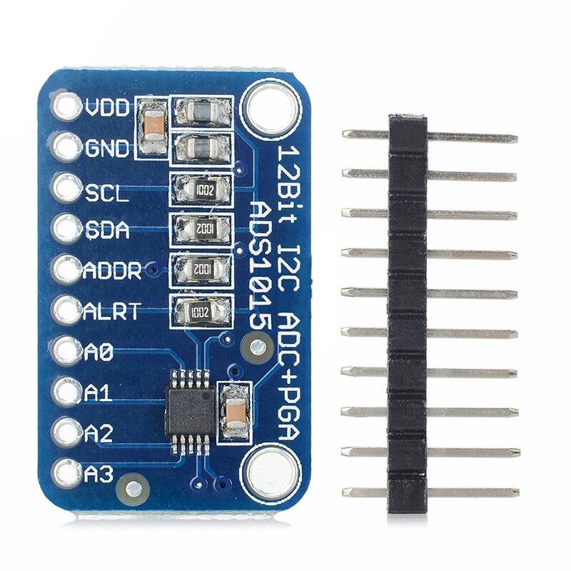 CJMCU-ADS1015 Ultra-small 12-bit Precision Analog-to-digital Converter ADC Development Board Module