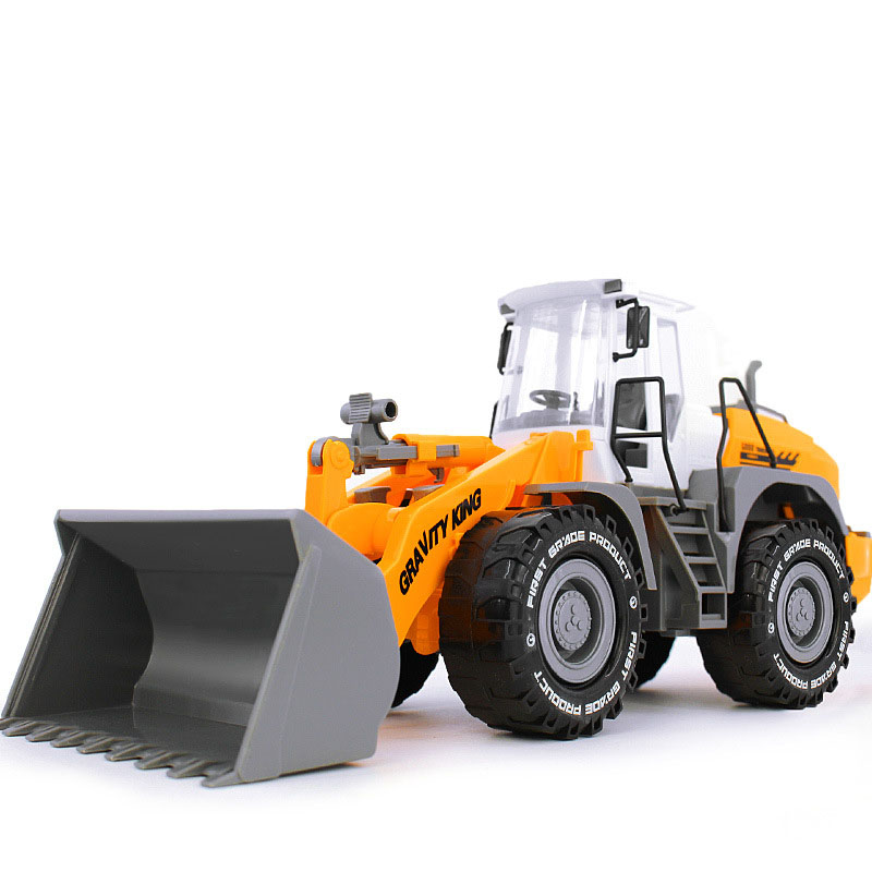 1:22 Bulldozer Models Toy Large ABS Diecast Toys Digging Toys Model Farmland Tractor Truck Engineering Vehicles Boy Kids Gifts