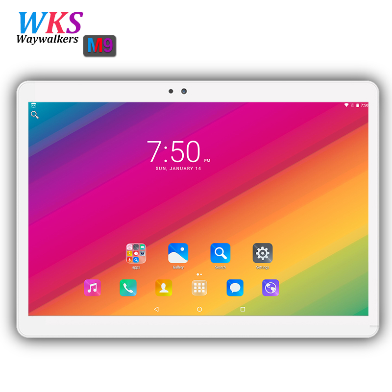 Waywalkers 10 inch tablet pc octa core android 7.0 RAM 4GB ROM 32GB/64GB dual sim card Bluetooth 1920*1200 Smart tablets phone waywalkers 10 inch tablet pc android 7 0 octa core ram 4gb rom 32 64gb 1920 1200 ips dual sim wifi bluetooth gps tablets phone