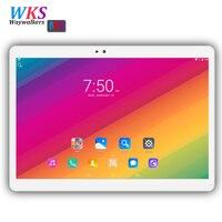 Waywalkers 10 polegada tablet pc octa núcleo android 7.0 RAM 4 GB ROM 32 GB/64 GB dual sim card Bluetooth 1920*1200 Inteligente tablets telefone