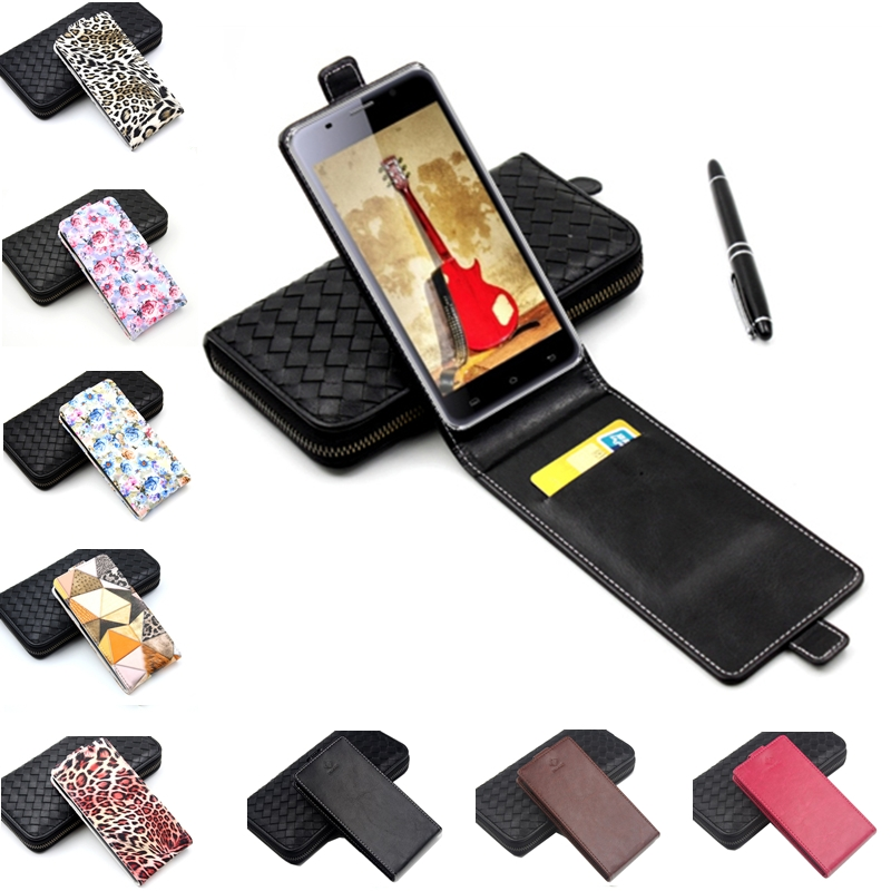 Classic Luxury Advanced Top Flip Colorful Leather Case For Jinga Basco L500 Phone Cases Cellphone Cover With Card Slot