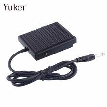 Yuker Foot Sustain Pedal Controller Switch For Electronic Keyboard Piano