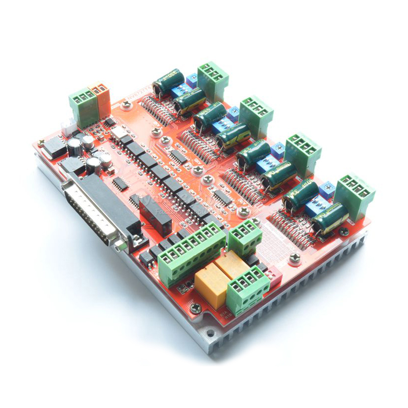 цена New LV8727 CNC milling machine actuator 4 axis stepper motor driver board Integrated stepper driver