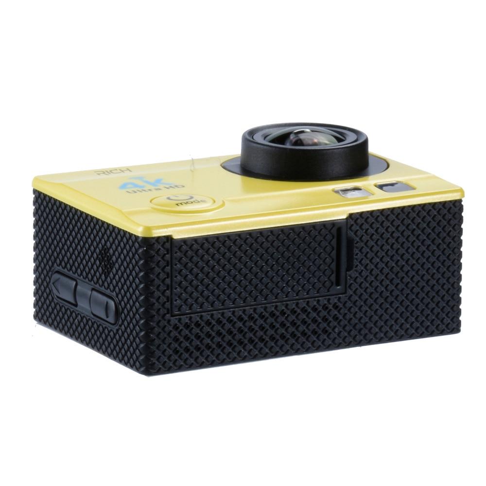 Caméra d'action 4 K Ultra HD WIFI gopro hero 4 Stlye 1080 P/30fps 2.0 LCD 170 Lentille Plongée Étanche 30 M DV Casque Cam Caméra De Sport - 4