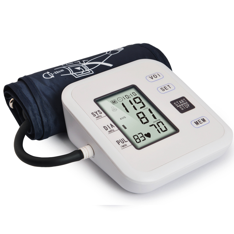 Family health Care ALS-B01 Electronic Blood Pressure LCD screen WHO blood pressure monitor