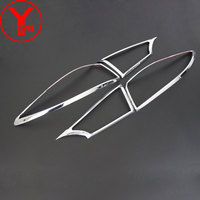 2015 2017 Tail Light Cover For Mazda 3 2015 2016 2017 ABS Rear Lamp Cover Deflectors