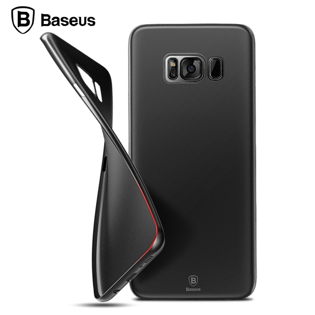 huge selection of 8c3a6 65fcd US $4.99 |Baseus Wing Cover Case For Samsung Galaxy S8/S8 Plus Mobile Phone  Cases Thin Light 5.1g 0.4mm Cover Coque For Case Samsung Phone-in ...