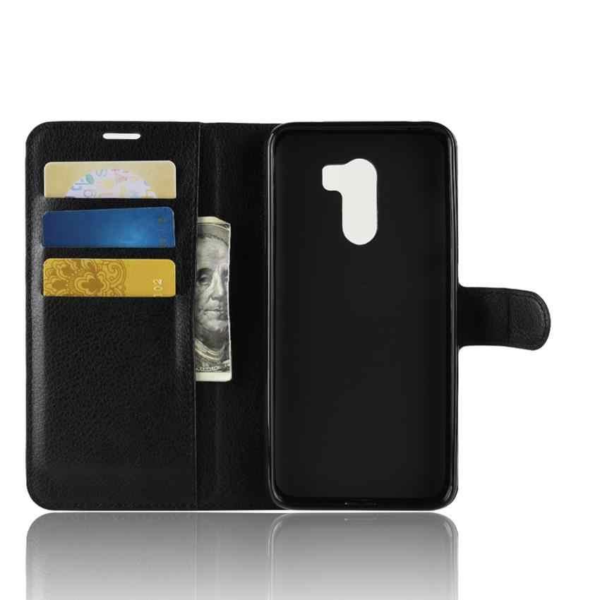 Pour Xiaomi Pocophone F1 housse avec magnétique rétro luxe en cuir portefeuille étui à rabat pour Xiaomi Pocophone F1 housse Coque Funda