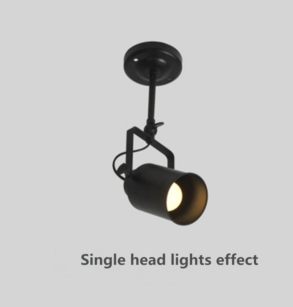 lighting spotlights ceiling. aliexpresscom buy led clothing store guide track lighting lamp ceiling wall with the retro right lights spotlights director rod from reliable