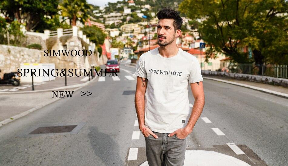0dd595a084e72 SIMWOOD marque vêtements 2018 nouveau Printemps hommes chemise À Carreaux À  Manches Longues Slim Fit coton Loisirs Respirant Casual-shirt CS1519