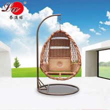 True wicker chair swing hanging baskets indoor outdoor balcony hammock rocking couch Chaise