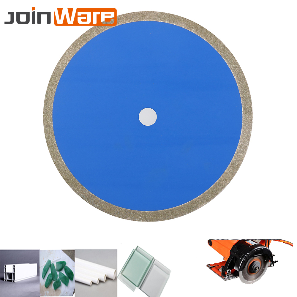 250mm*25mm 10'' Diamond Circular Saw Blade Electroplated Cutting Disc Grinding Wheel For Jade Jewlery Glass PVC Pipe 60Grit