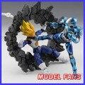 MODELO Gundam FÃS Saint seiya Alma EFEITO rocha explosão/explosão/choque de crack plataforma cena peças de efeitos de genuine Figuras de Brinquedo