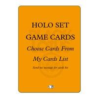 NEW HOLOGRAM SET 54PCS/LOT Black Core Standard Cards Set Custom Mixed Black Lotus TOP Quality Playing Cards Board Games Poker