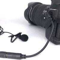 AriMic 1,5 м петличный микрофон Lavalier Клип на всенаправленный микрофон для смартфонов интервью видео запись аксессуары