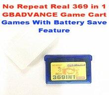 GameBox GBADVANCE 369 dans 1 jeu Anglais Cartouche, batterie Sauver Fonctionnalité Prise En Charge! livraison De Protection PP Cas