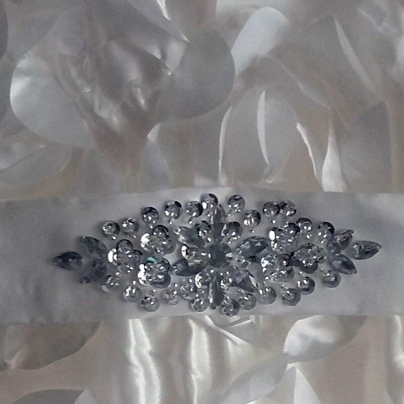 Ručně vyráběné květiny Květinové šaty Šperky Spaghetti Bez - Šaty pro svatební hostiny - Fotografie 4