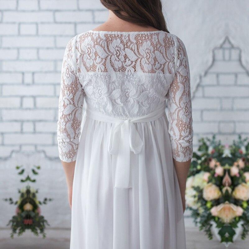 Smdppwdbb Maternity Lace Dresses Plus Size Pregnancy Dress Gown