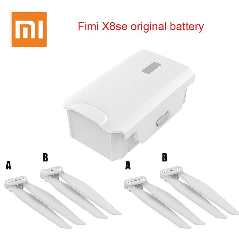 Original Xiaomi FIMI X8 SE bateria original 11.4V 4500mah Câmera FPV Com 3-eixo Cardan 4K GPS RC Zangão Dobrável Hélices Em
