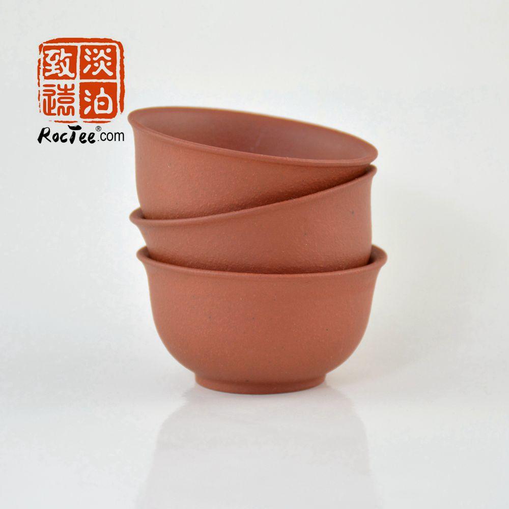 3 штуки, фиолетовая глиняная чашка, китайская чайная чашка, чайная чашка Исин, чашка Hong Ni для чая, бесплатная доставка