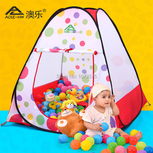 Children Playing tent house for children ball pool Play Game toy Tent baby tent baby playhouse  sc 1 st  AliExpress.com & Children Playing tent house for children ball pool Play Game toy ...
