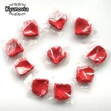 Kyunovia 1000pcs Fake font b Rose b font font b Petals b font Flower Girl Toss