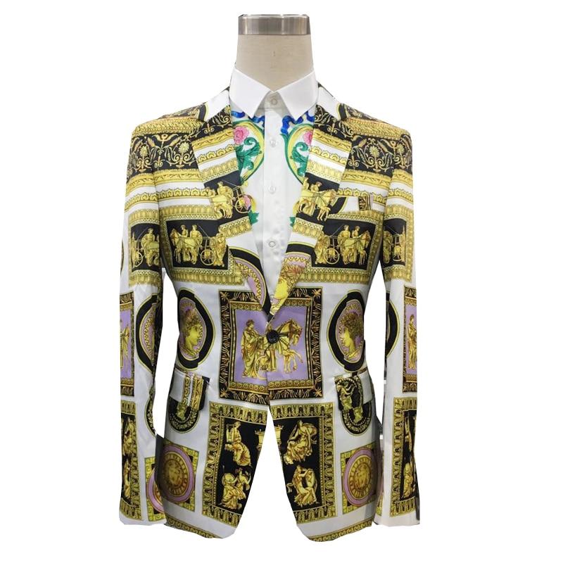 New Design For Flower Blazer Yellow With Black Color Blazer