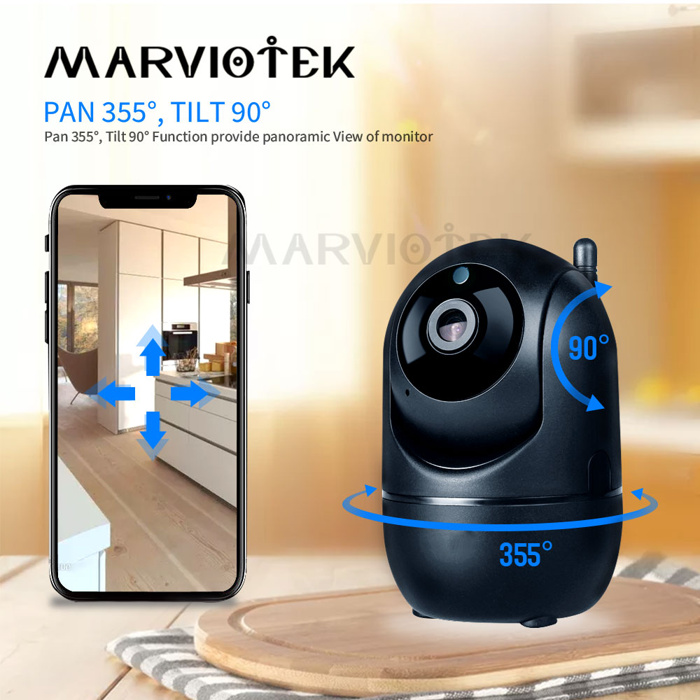 Cctv-Camera Baby-Monitor Auto-Tracking-Ip-Camera Wifi Surveillance Night-Vision Mini