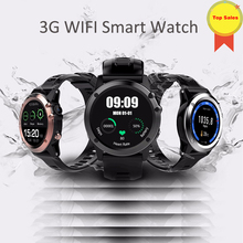 Smart GPS Watch Android 4.40 Waterproof IP67 5MP camera 1.39″ MTK6572 BT 4.0 3G Wifi Smartwatch Men Wearable Devices for phones