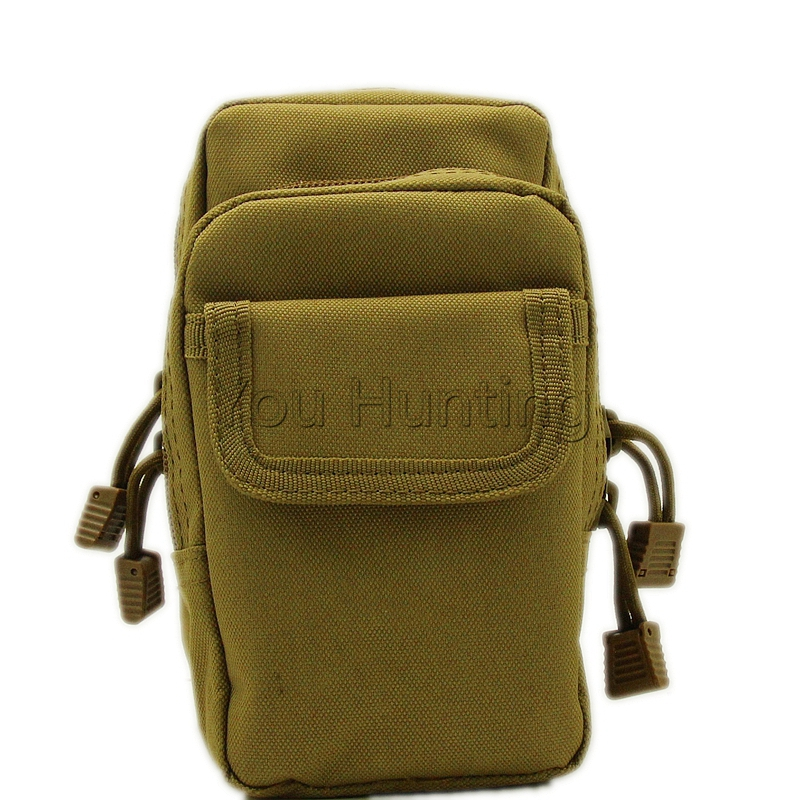 Unisex Sports Outdoors Molle Bag Tactical Backpack Vest Pouch Camping Traveling Hiking Magzine Toll Pouch