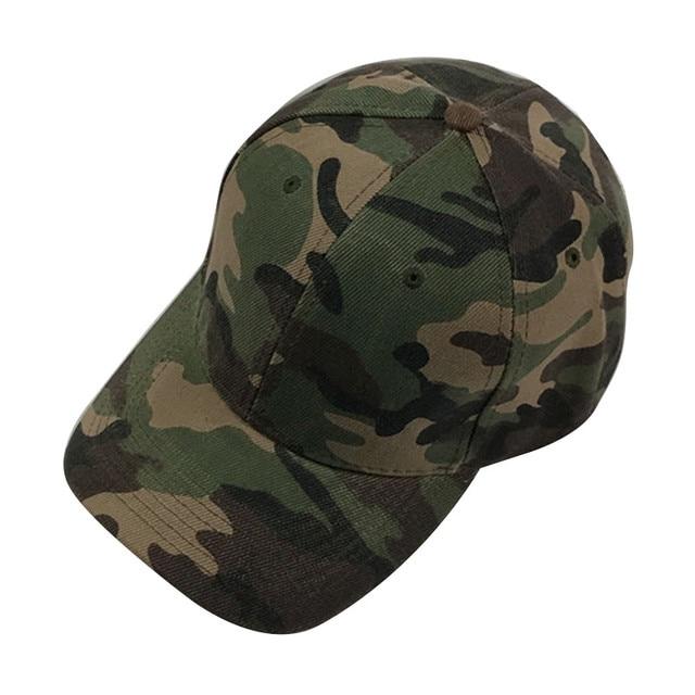 50bdf13be Snapback Hip Hop Baseball Cap Dad Hat For Men Camo Army Tactical Cap 2017  Summer Boys