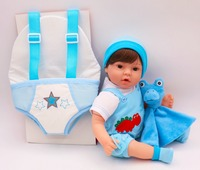 1640CM bebe doll reborn toys soft cloth body silicone reborn babies pink clothing set girl dolls toys xmas gift bonecas