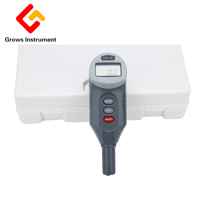HS-AO Digital Type Hardness Tester High Quality Determination Rubber Durometer Digital Precise Hardness Tester
