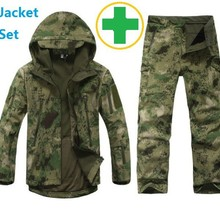 Military-Jacket Uniform Shark-Skin Soft-Shell Hunter Lurkers Army-Suits Tactical-Gear